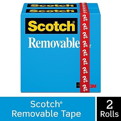 Scotch® Removable Tape, 3/4