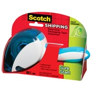 Scotch® Sure Start Tape with Easy Grip Packing Tape with Dispenser, 17 yds., Clear (DP-1000)