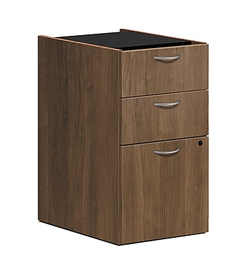 HON Foundation Pedestal File, 2 Box / 1 File Drawer, Pinnacle Finish, (HONLMBBFPNC) NEXT2018 NEXTExpress