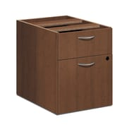 HON Foundation Pedestal File, 1 Box / 1 File Drawer, Shaker Cherry Finish (HONLMBFF) NEXT2018 NEXTExpress