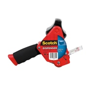 Scotch® Heavy Duty Packaging Tape Dispenser, Foam Handle with Retractable Blade (ST-181)