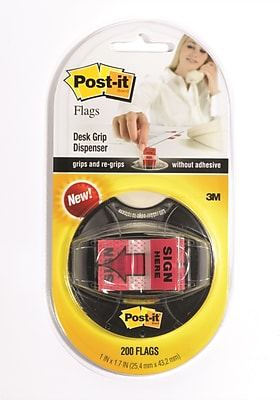 Post-it® 'Sign Here' Message Flags, .94