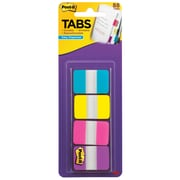 "Post-it® Tabs, 1"" Wide, Solid, Assorted Colors, 88 Tabs/Pack (686-AYPV1IN)"