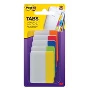 """Post-it® Tabs, 2"""" Wide, Rio de Janeiro Collection, 30 Tabs/Pack (686-RIO2)"""