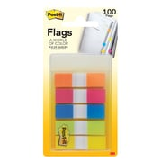 "Post-it® Flags, .47"" Wide, Rio de Janeiro Collection, 100 Flags/Pack (683-RIO2)"