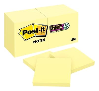 Post-it® Super Sticky Notes, 2