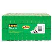 "Scotch® Magic™ Tape, 3/4"" x 28 yds., 48 Rolls/Pack (810K48)"
