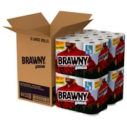 Brawny® Pick-a-Size® Paper Towels, 24 Large Rolls/Carton (44133)