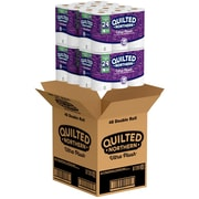 Quilted Northern Ultra Plush 3 Ply Toilet Paper, 154 Sheets per Roll, 48 Rolls/Carton (87397)
