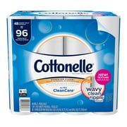 Cottonelle Ultra CleanCare Toilet Paper, Strong Bath Tissue, 48 Double Rolls (48036)