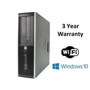 HP Refurbished 8200 Desktop PC, Intel i5 3.1Ghz, 512GB SSD, 12GB RAM, WIFI, WIN 10 (229598)