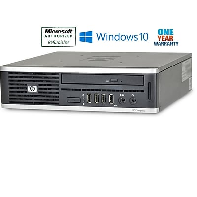 Refurbished Hp Elite 8000 Ultra Small Form Factor Intel E7400 Core 2 Duo 2.8Ghz  4Gb Ram 320Gb Hard Drive Windows 10 Home