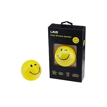 LAX Gadgets LAUD Bluetooth Wireless Emoji Speaker Smile (24327428)