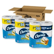 Charmin Ultra Soft 2-Ply Toilet Paper, White, 426 Sheets/Roll, 18 Super Mega Rolls/Carton  (75224)
