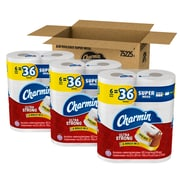 Charmin Ultra Strong 2-ply Super Mega Roll, White, 18/Count  (75225)