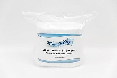Wipe-A-Way Wet Facility Wipes; 2 Rolls/Case (WA-800)