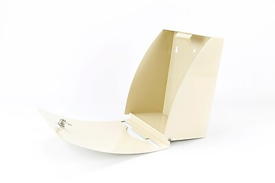 Poopy Pouch Express Pet Waste Bag Dispenser; Silver Metallic (PP-EXP-BEIGE)