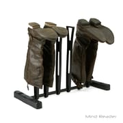 Mind Reader 3 Pair Boot Rack Organizer Stand for Riding Boots, Rain Boots, Shoes and Keeps Boots in Shape, Black (3BOOT-BLK)