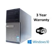 Dell Refurbished 7010, Intel i3 3.3Ghz, 512GB SSD, 12GB RAM, WIFI, WIN 10 (236177)