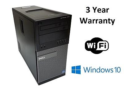 Dell7010, Intel i3 3.3Ghz, 250GB HDD, 4GB RAM, WIFI, WIN 10, Refurbished