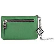 Lencca Lady Clutch Wallet Wristlet Case fits Iphone 8, Iphone 7, Iphone 6s, iphone SE, Green (LENLEA004)
