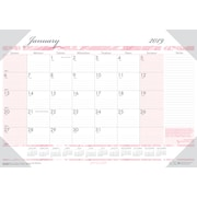 "House of Doolittle 2019 Monthly Desk Pad Calendar Breast Cancer Awareness 18.5"" x 13"" (HOD1466)"