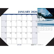 "House of Doolittle 2019 Monthly Desk Pad Calendar Earthscapes Scenic 18.5"" x 13""  (HOD147""6)"