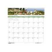 "House of Doolittle 2019 Monthly Wall Calendar Earthscapes Gardens of the World, 12"" x 12""   (HOD301)"
