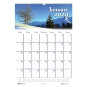 "House of Doolittle 2019 Monthly Wall Calendar Earthscapes Scenic 12"" x 16.5""  (HOD37""""8)"
