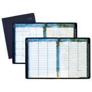 "AT-A-GLANCE® DayMinder® Tropical Escape Weekly/Monthly Appt Book/Planner, 12 Mo., January Start, 8 1/2"" x 11"", Navy(GTE52-20-19)"