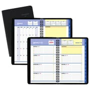 """AT-A-GLANCE® QuickNotes® Weekly/Monthly Appointment Book/Planner, 12 Months, January Start, 4 7/8"""" x 8"""", Black (76-02-05-19)"""
