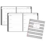 "AT-A-GLANCE® Badge Stripe Weekly/Monthly Planner, 12 Months, January Start, 8 1/2"" x 11"" (5148E-905-19)"
