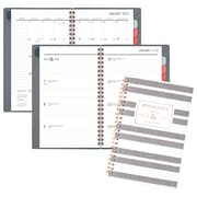 "AT-A-GLANCE® Badge Stripe Weekly/Monthly Planner, 12 Months, January Start, 4 7/8"" x 8"" (5148E-200-19)"