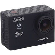 Coleman CX14WP 16.0-Megapixel Conquest3 4K Ultra HD Wi-Fi Waterproof Sports Camera Kit