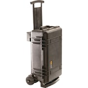 Pelican 015100-0040-110 Deluxe Carry-on Case with Padded Dividers & Carry Handle