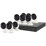 Swann SWDVK-1649810-CL 16-Channel 5-Megapixel DVR with 2TB HD & 10 PIR Cameras (SCUDVK1649810)