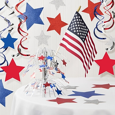 Creative Converting Patriotic Decorations Kit (DTCPA99X1A)