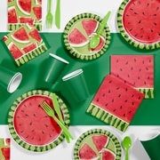 Creative Converting Watermelon Whimsy Party Supplies Kit (DTC2883E2A)