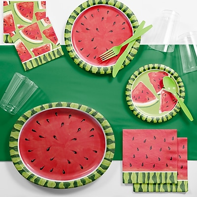 Creative Converting Watermelon Whimsy Deluxe Party Supplies Kit (DTC2883E2B)