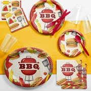 Creative Converting BBQ Time Deluxe Party Supplies Kit (DTC2884E2B)