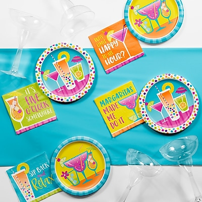 Creative Converting Cocktail Fun Party Supplies Kit (DTC2888E2A)