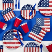 Creative Converting Patriotic Glory Party Supplies Kit (DTC2893E2A)