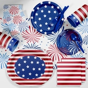 Creative Converting Patriotic Deluxe Party Supplies Kit (DTC2894E2B)