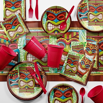 Creative Converting Bulk Tiki Time Luau Kit (DTC2897E2C)