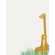"""Great Papers!® Baby Mama Giraffe Letterhead, 8.5""""H x 11""""W, 80/Count (2017032)"""