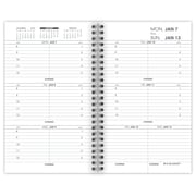 "2019 AT-A-GLANCE® Weekly Appointment Book/Planner Refill for 70-008, 12 Months, January Start, 3 1/4"" x 6 1/4"" (70-904-10-19)"