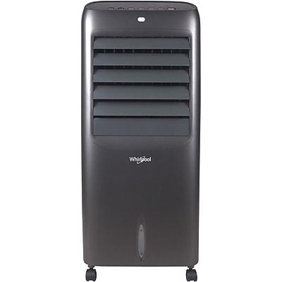 Whirlpool 214 CFM Indoor Evaporative Air Cooler with Remote Control and Ice Packs in Titanium (WPEC12RGT)