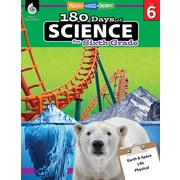 Shell Education 180 Days of Science for Sixth Grade Book (51412)