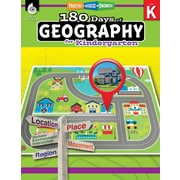Shell Education 180 Days of Geography for Kindergarten Book (28621)