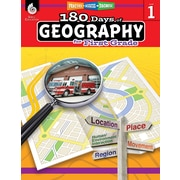 Shell Education 180 Days of Geography for First Grade Book (28622)